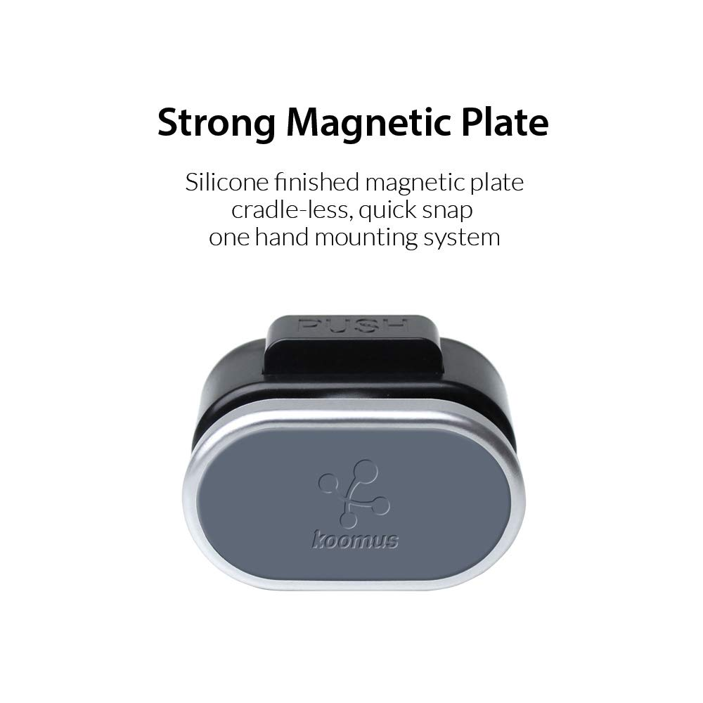 Koomus Urban-CD Smartphone Magnetic Car Mount for CD Slot by Koomus (Image #6)