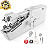 Portable Sewing Machine - Mini Sewing Professional Cordless Sewing Handheld Electric Household Tool - Quick Stitch Tool for Fabric, Clothing, or Kids Cloth Home Travel Use