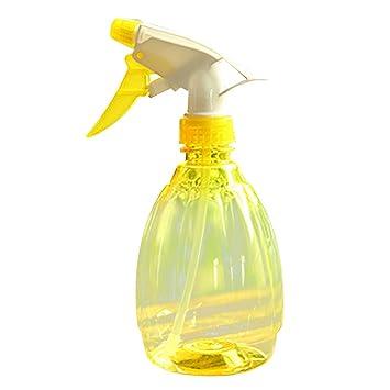 Covermason Plastico Botella de Spray Regar Flores Rociador de Agua para Plantas(Amarillo): Amazon.es: Jardín