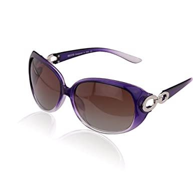 0d696b6c525 Image Unavailable. Image not available for. Colour  Duco Women s Classic  Star Polarized Sunglasses 100% UV Protection 1220 ...