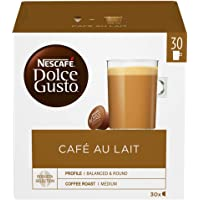 NESCAFÉ DOLCE GUSTO Café Au Lait, 30 Capsules (Pack of 3 - Total 90 Capsules, 90 Servings)