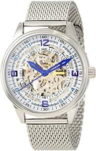 Akribos XXIV Men's AKR446SS Bravura Saturnos Elite Stainless Steel Automatic Watch