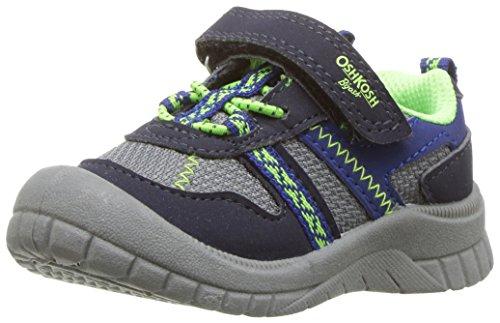 OshKosh B'Gosh Boys' Garci Sneaker, Navy, 5 M US Toddler