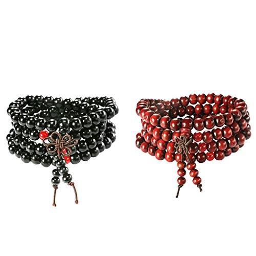 FUNRUN Buddhist Bracelet Sandalwood Chinese product image