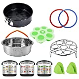 Pressure Cooker Accessories Set 11 Pieces, Compatible with Instant Pot 5,6,8 QT or Other Electric Pressure Cookers