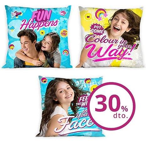 NICKELODEON Cojin Soy Luna Disney surtido: Amazon.es: Hogar