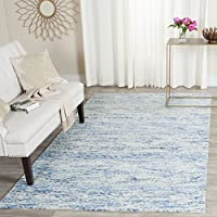 Safavieh Himalaya Collection HIM120A Handmade Blue Premium Wool Runner (23 x 8)
