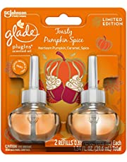 Glade Plug-Ins Scented Oil Refills- Toasty Pumpkin Spice - 2ct (1.34 Fl OZ)