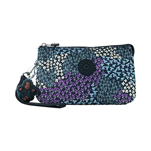Kipling Creativity XL Printed Pouch, Dotted Bouquet