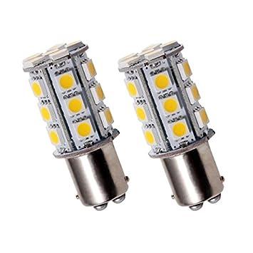 BAY15D24R - SMD LED luz de freno del coche, lámpara, bombilla BAY15D 12V ROJO: Amazon.es: Coche y moto