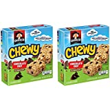 Quaker Chewy Chocolate Chip Granola Bars 8-0.84 oz. Bars (Pack of 2)