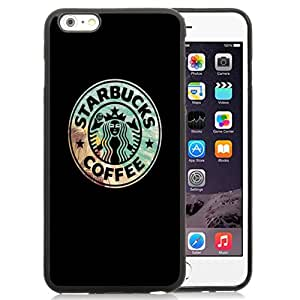 Fashionable Custom Designed Cover Case For iPhone 6 Plus 5.5 Inch With Creative Starbucks Logo Phone Case Cover