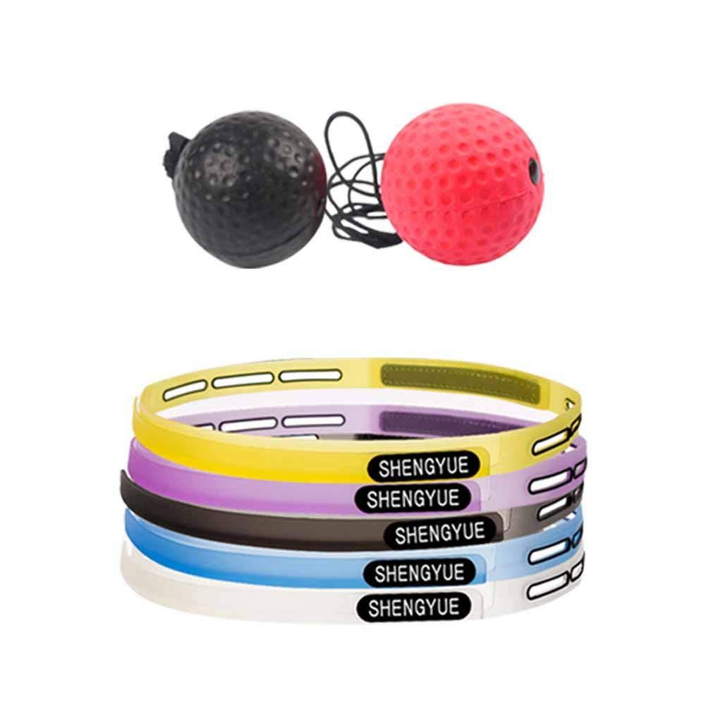 Purebesi Boxing Reflex Ball ,Boxing Training Ball Improve You Speed Coordination Reflex Ability Exercise Gym Boxing MMA Other Combat Sports