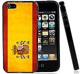IP5 Spain Spanish Grunge Flag Iphone5 5G