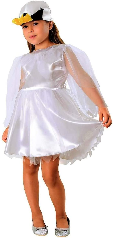 Cisne Disfraz Blanco para niños – Elegante cisne Disfraz Para Niña ...