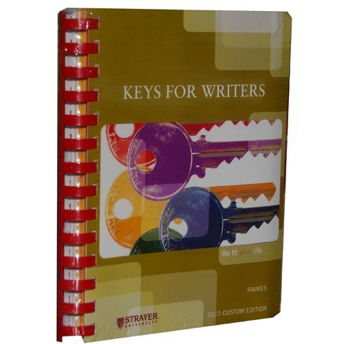 Keys for Writers with Writespace