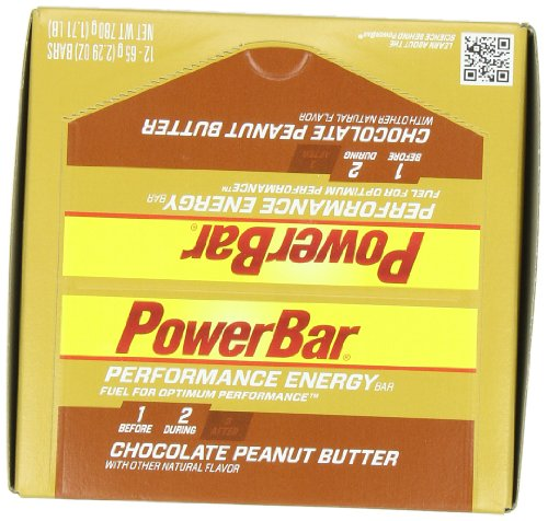 Performance Bar Peanut Butter (PowerBar Performance Energy Bar, Chocolate Peanut Butter, 2.29-Ounce Bars (Pack of)