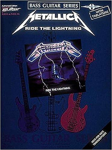 BASS RIDE THE LIGHTNING ***BRAND NEW*** METALLICA BASS GUITAR TAB