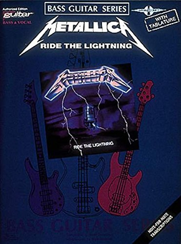 - Metallica - Ride the Lightning* (Bass Guitar)