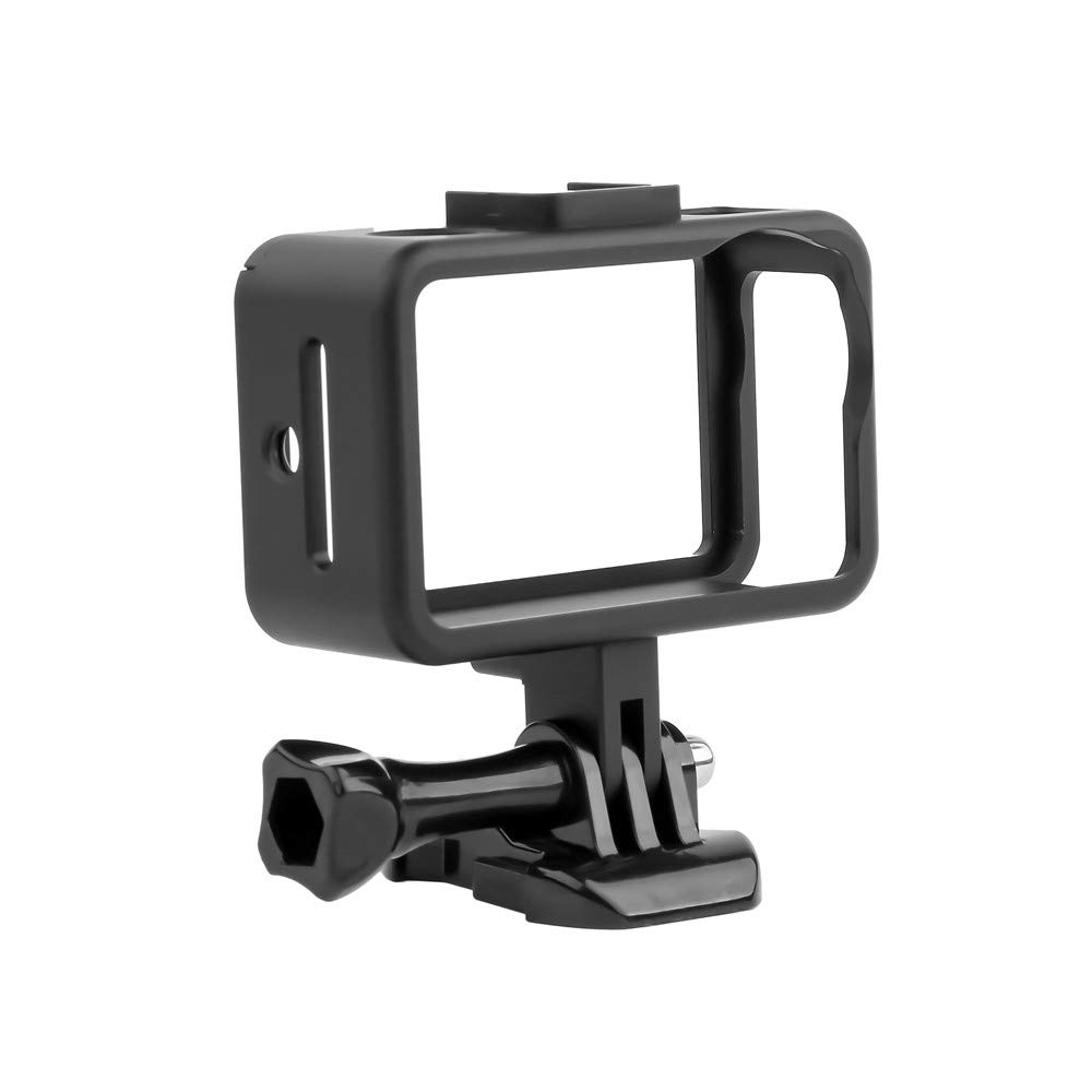Color : White Silicone Protective Case for DJI New Action with Frame Durable