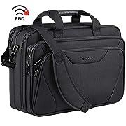 KROSER Laptop Bag Premium Laptop Briefcase Fits Up to 17.3 Inch Laptop Expandable Water-Repellent Shoulder Messenger Bag…
