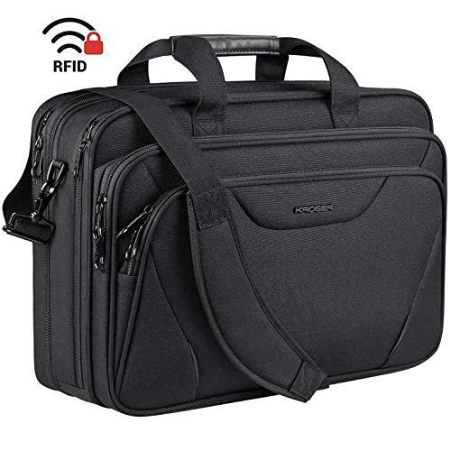 """Kroser 18"""" Expandable Laptop Briefcase"""