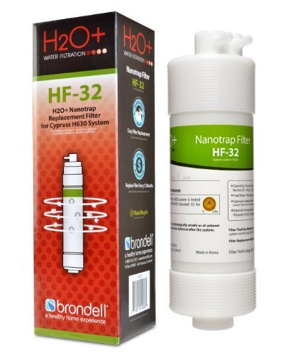 Brondell H2O+ Cypress Nanotrap Water Filter (HF-32) by Brondell