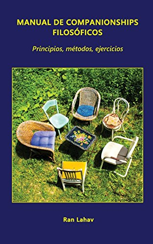Manual de Companionships Filosoficos: Principios, Metodos, Ejercicios  [Lahav, Ran] (Tapa Blanda)