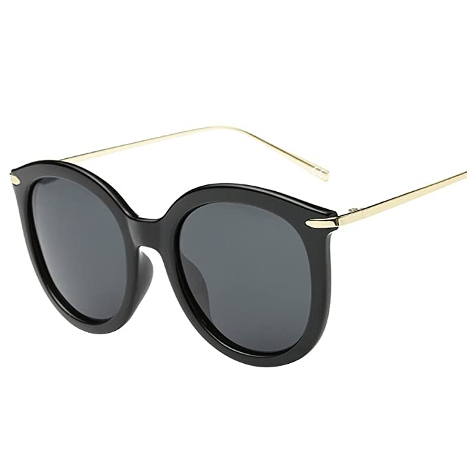 VeBrellen Moda Retro polarizado UV400 gafas de sol marco ...