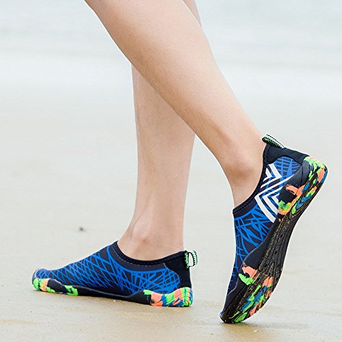 Yoga Diving Unisex Shoes��farjing Sale Clearance Blue Outdoor Swimming Shoes Creek Sport 6q8Y6ExO
