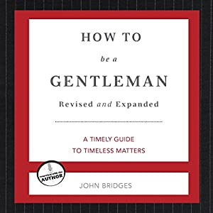 How to Be a Gentleman Hörbuch