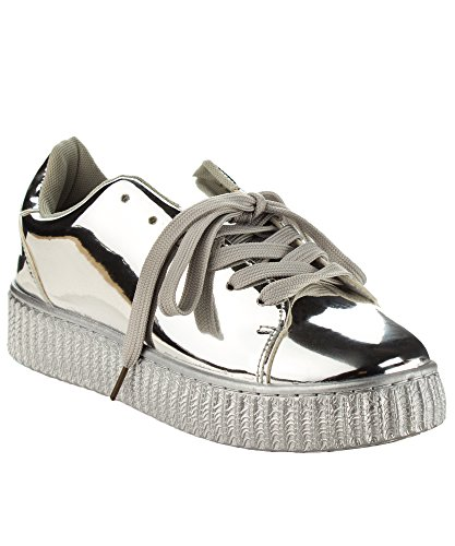 Fashion Creepers Flatform Platform Sneakers