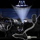 Spoya Star Wars Darth Vader USB Car dome ceiling CREE LED cigarette lighter logo projection projector atmosphere light lamp