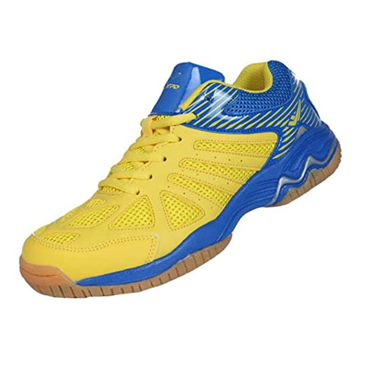 XIANGYANG Zapatos de Voleibol, diseño de absoración de Choque ...