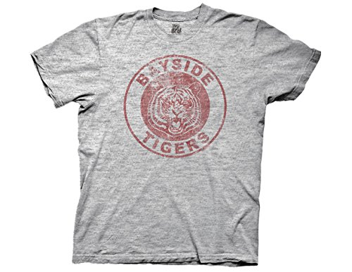 T-Shirt - Saved by the Bell - Bayside Tigers (Slim Fit), Medium ()