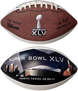 Super Bowl XLV Commemorative Mini-Football