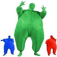 AirSuits Costume de gros gonflable - soirée déguisée - vert