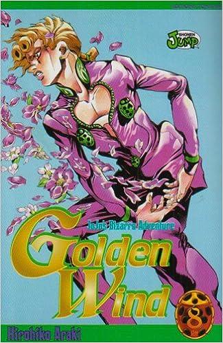 Jojo's bizarre adventure - Golden Wind Vol.8