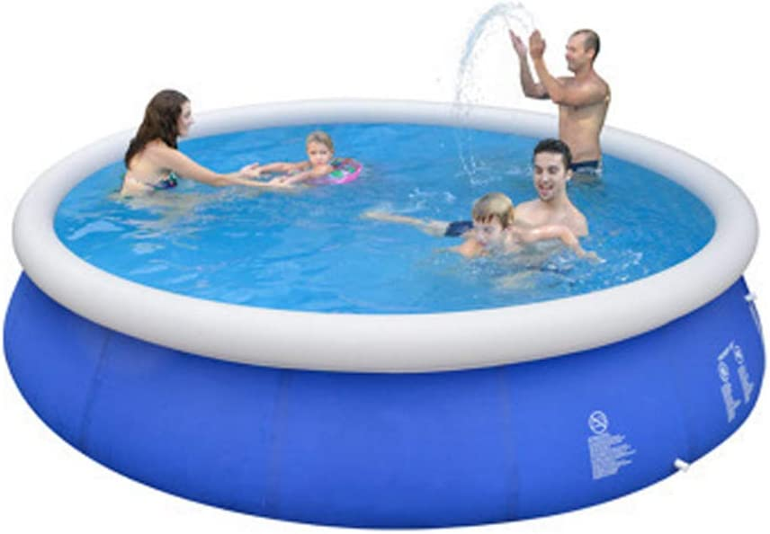 Piscina Inflable, Piscina Inflable Familiar Redonda, Piscina Inflable para niños, Piscinas Familiares para niños, Adultos, bebés, niños pequeños, al Aire Libre, jardín, Patio Trasero (300 * 76cm)