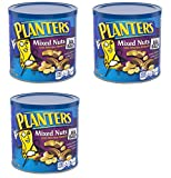 Planters Mixed Nuts, Mixed Nuts, Regular, 56 Ounce, 3 Cans