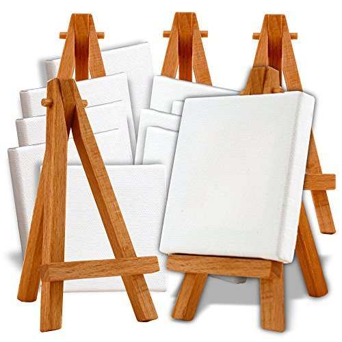 Mini Easel & Canvas Collection