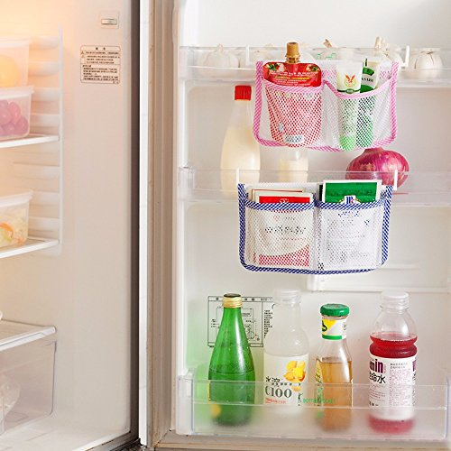 Refrigerator Hanging Polyester Storage Bag Holder
