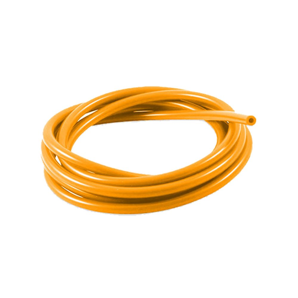 4mm ID Orange 2 Metre Length Silicone Vacuum Hose AutoSiliconeHoses