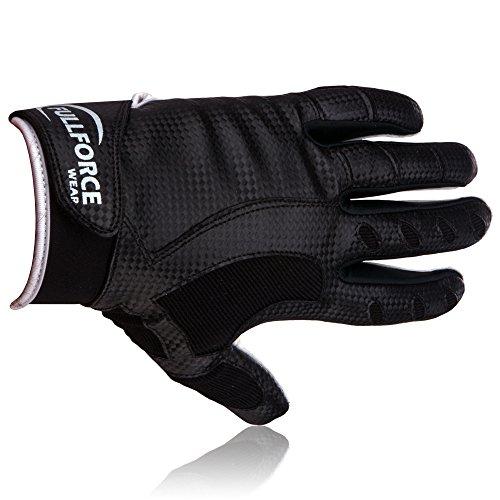 Full Force GeckoTECK American Football Receiver Handschuhe, bk, 3XL
