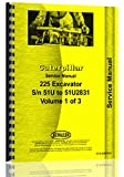 Caterpillar 225 Excavator Service Manual (51U1)