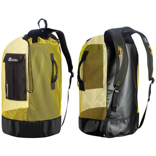 9be506244433 Amazon.com   XS Scuba Seaside Deluxe Mesh Bag - Black   Sports   Outdoors