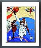 Allen Iverson Philadelphia 76ers NBA Action Photo (Size: 12.5'' x 15.5'') Framed