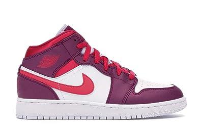 6af7c8b9dc569 Nike AIR Jordan 1 MID (GS) - 555112-661: Amazon.in: Shoes & Handbags