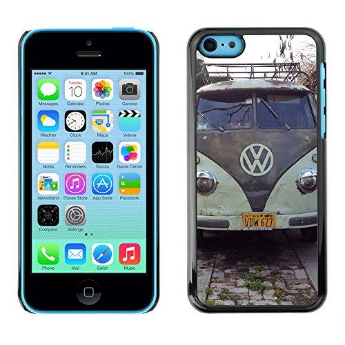 Premio Sottile Slim Cassa Custodia Case Cover Shell // F00025194 bus Vintage // Apple iPhone 5C