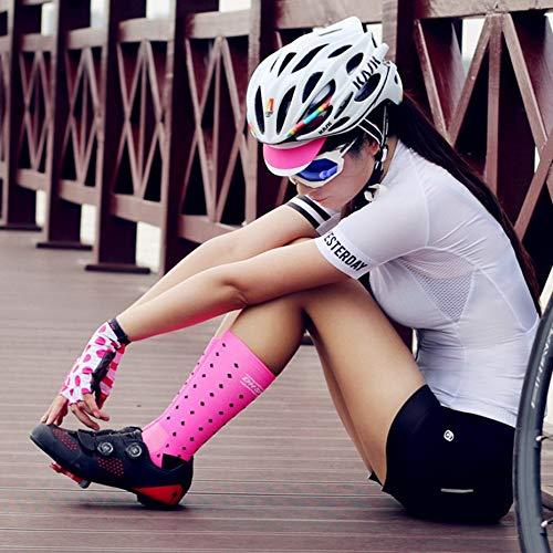 Pink DH04 Komfortable modische Outdoor-Radfahren Socken M/änner Frauen Professionelle atmungsaktive Sportsocken Basketball Socken